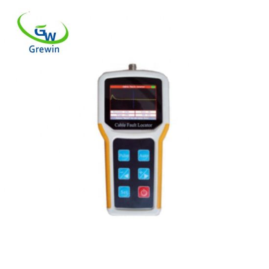 Handheld Monopulse Time Domain Reflectometer Cable Fault Locator 8km