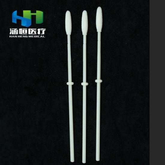 8210 Disposable Self Sampling Nasal Swab Sterile Medical Sample Collection Swab Nylon Flocked Swab Medical Oral Swab Supplier
