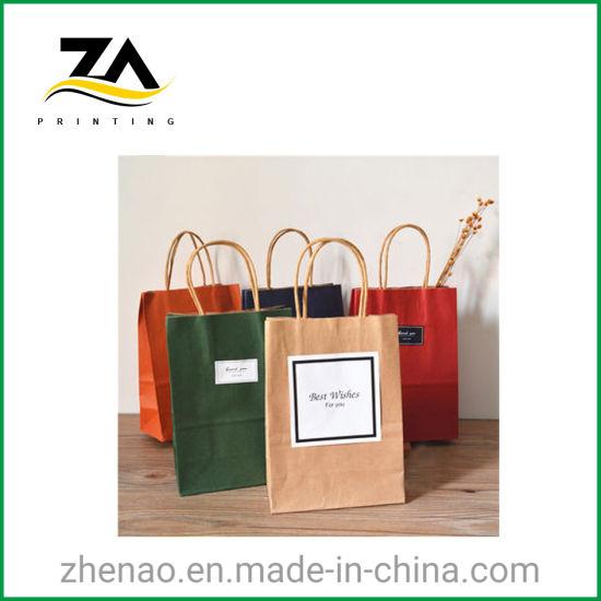 Customized Shipping Bag Packaging Kraft Paper Bag