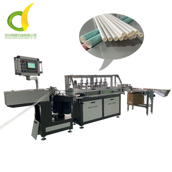 Drinking Straw Making Machine Manufacturer with CE