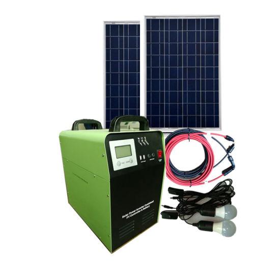 300W/500W Solar AC&DC Power System for Home