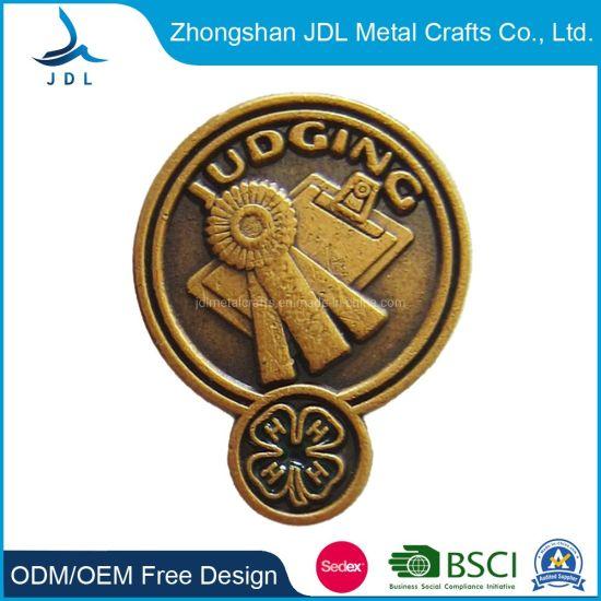 Wholesale Cheap Custom Metal Engraved Bag Shape Lapel Pin (178)