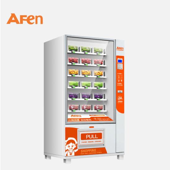 China Afen Self Automatic Orange Juice Apple Vending Machine China