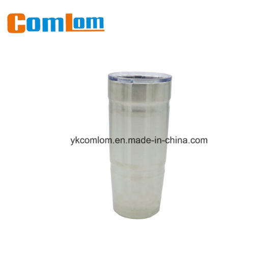 0d5940f0de9 CL1C-E384 Comlom 22 oz Double Wall Stainless Steel Vacuum Travel Coffee Mug  Tumbler