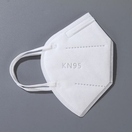 Wholesale White Colour 5 Ply Earloop KN95 Face Mask Manufacturer Factory Cheap Price