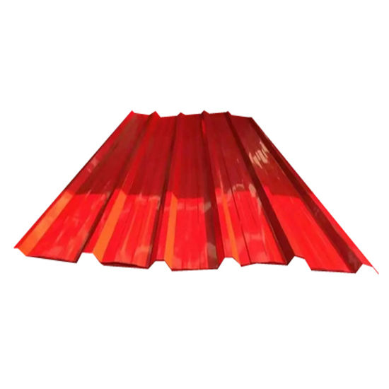 Building Material Color Corrugated Metal Roofing Sheet