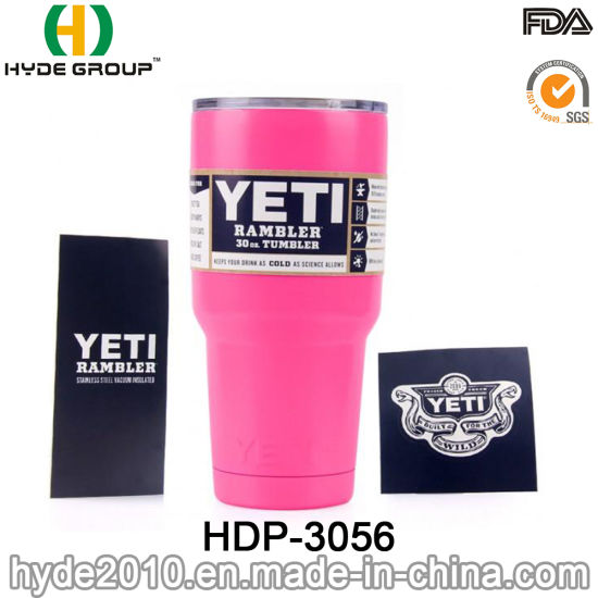 China Yeti 30/20oz Stainless Steel Travel Mug, Car Tumbler