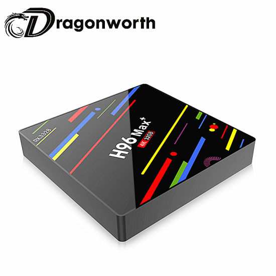 Branded Phone Casessmart Firmware H96 Max Amlogic Rk3328 Android 8.1 Android TV Stick Android 32g TV Box Dropship pictures & photos