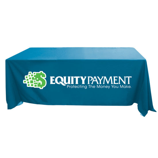 High Printing Quality Trade Show Table Throw / Table Runner / Table Covers / Table Drapes pictures & photos