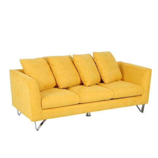 Fashion Colorful Fabric Home Furniture for Living Room Sofa (XD-440)