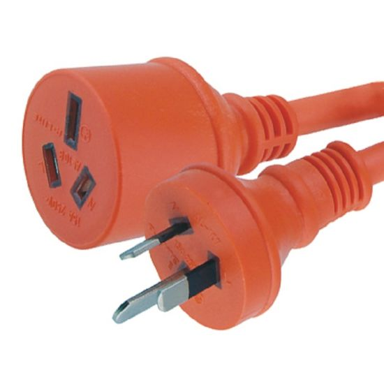 SAA Approved Heavy Duty Extension Cord Supplier with 15A Plug and 250V Socket pictures & photos