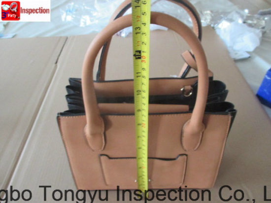 PU Hangbag Inspection/Quality Control/Quality Assurance/Quality Check pictures & photos