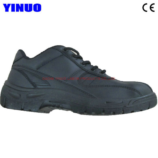 Genuine Leather Steel Toe Steel Midsole Industrial Safety Shoes