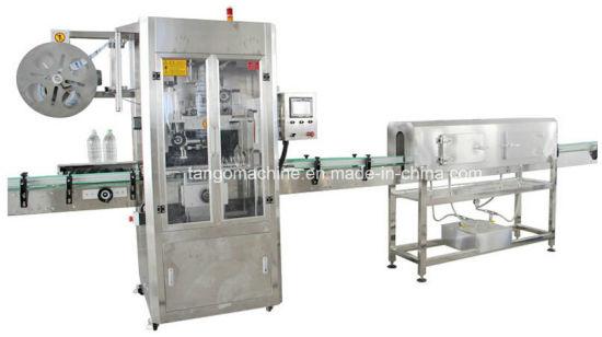 Automatic High Speed Round Bottle Shrink Sleeve Label Sealing Machine
