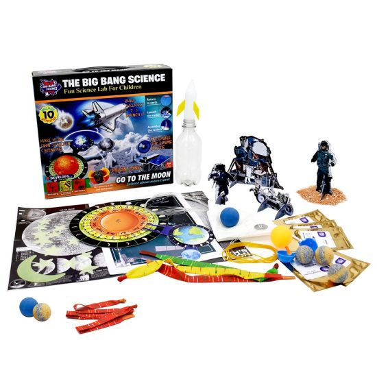Stem Educational Toys Go to The Moon for Boys