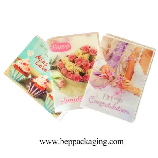 Custom 3D Lenticular Greeting Cards Printing Postcards Birthday Wedding Anniversary