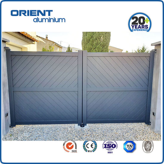 Aluminium Portail House Gate Metal Gate Good Price