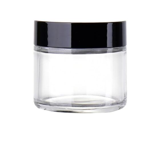7c202a9b958e China Empty Cosmetic Glass Jar Pots Refillable Bottles Glass Tool ...