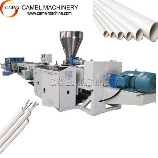 Plastic PVC PPR PE PP UPVC Pipe Tube Hose Extrusion Production Line