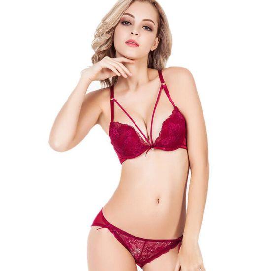 3c20f033aae China Ladies Underwear Sexy Bra and Panty New Design - China Plunge ...