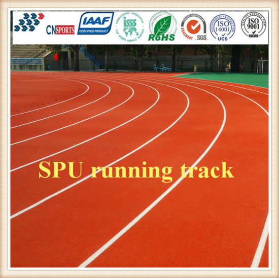 EPDM Rubber Athletic Running Track/Jogging Running Track Material