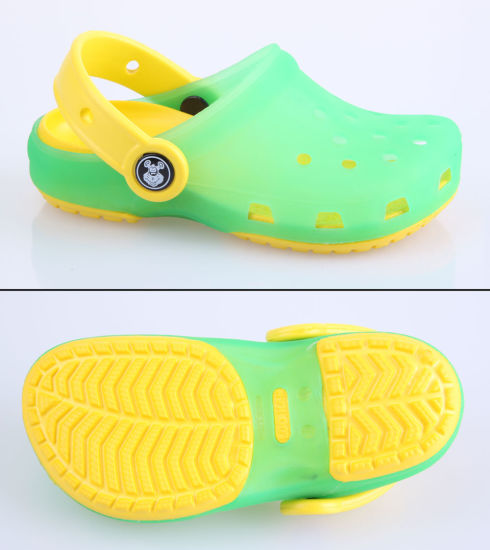 Children EVA Gardening Clogs Shoes OEM Order Is Available