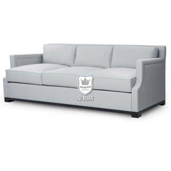 China Italy Leather Sofa With Silver Studs China Leather Sofa