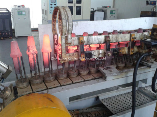 High Frequency Induction Welding Metal Brazing for Mining Drill Rod Heating Removing