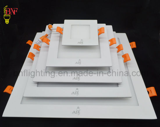 6W 12W 15W 18W 24W Round and Square Ultra Slim Wall Surface Mounted LED Panel Lamp for LED Ceiling Lamp Lighting