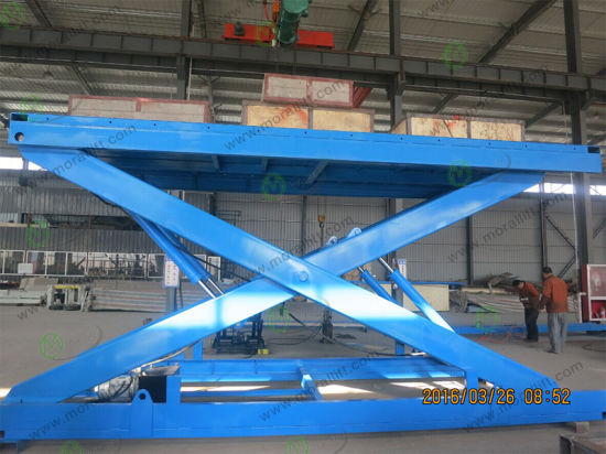 Chinese Golden Supplier 3000kg Scissor Car Lift pictures & photos