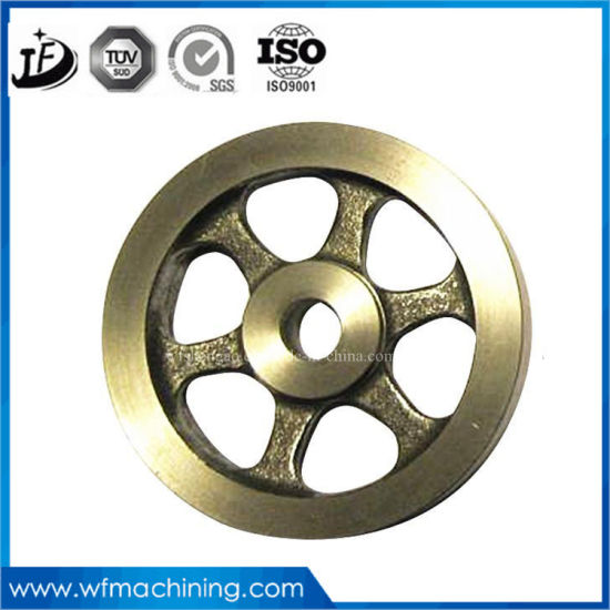 Sand Casting Magnetic Bike Parts Spinning Bike Cycling Flywheel/Exercise Bikes/Fitness Machine Flywheel of Home Gym Sport Fitness pictures & photos