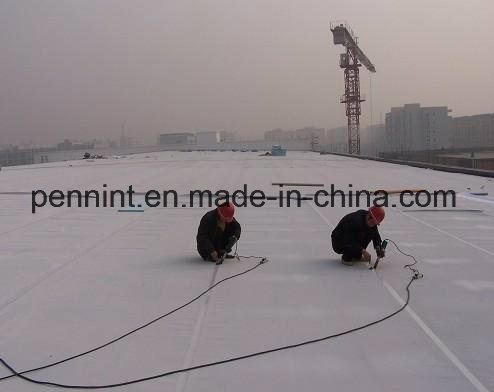 60 Mil Fleece-Backed Tpo Waterproof Membrane for Single-Ply Roofing System pictures & photos
