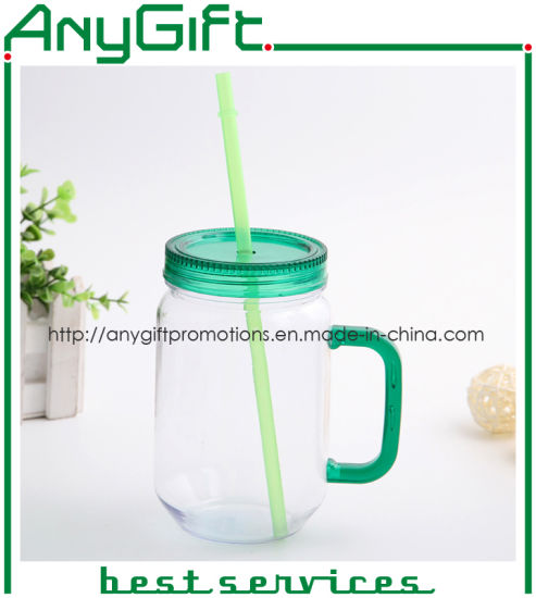 Plastic Mason Cup with Customized Color and Logo 03 pictures & photos