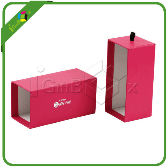 Pink Gift Boxes with Drawer pictures & photos