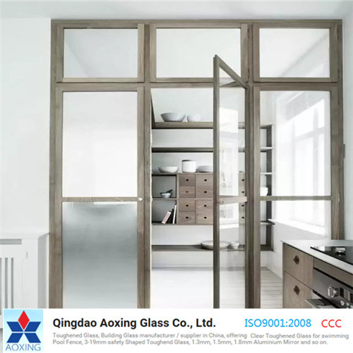 Frosting/Frosted Toughened Tempered Glass for Door/Building/Window pictures & photos