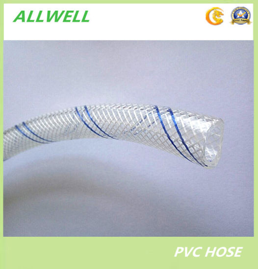 PVC Plastic Flexible Fiber Braided Reinforced Irrigation Water Pipe Garden Hose Pipe pictures & photos