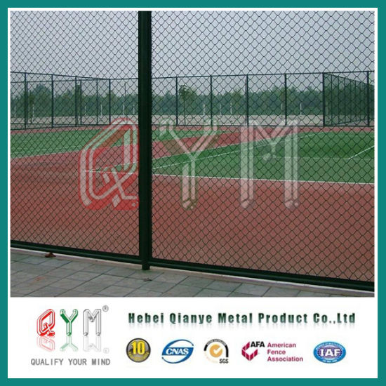 China Chain Link Wire Mesh Fence/Tennis Court/Sports Playground Wire ...