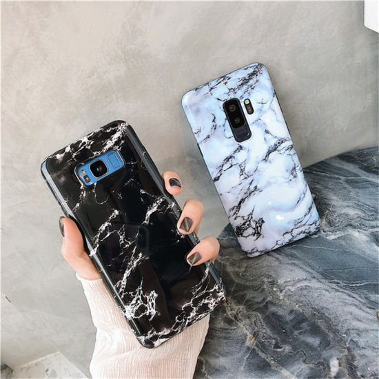 promo code c9a82 721b1 China for Samsung Galaxy S8 9 Plus Note Slim Fit Marble Case ...