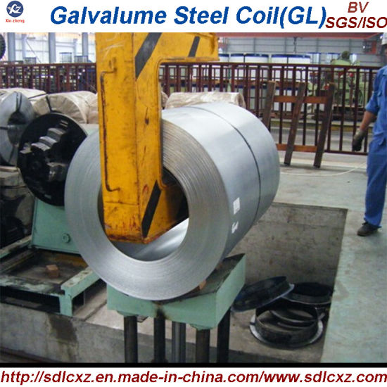 Building Material Gl Galvalume Steel Coil with Spangle pictures & photos