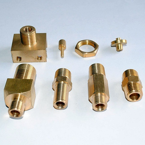 Tailor Made Accurate Precise Brass Turned Parts for Optical Communication