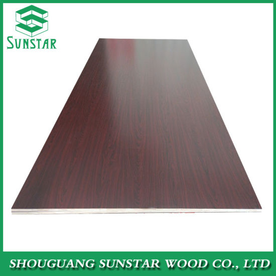 1220*2440*15mm Full Core Melamine Faced Plywood for furniture