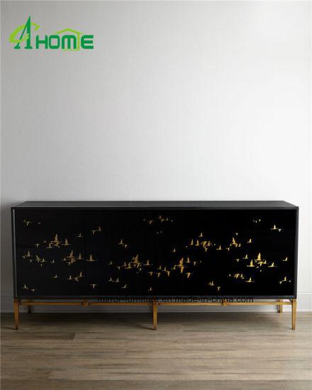 China European Bedroom Furniture Antique Black Vanity ...