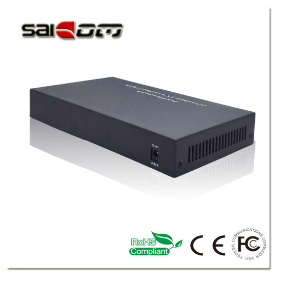 Saicom(SCSW-1108P-at) Fast Ethernet Poe Switch Not Gigabit pictures & photos
