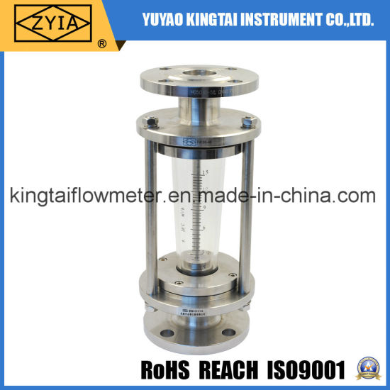 China high temperature flange type glass tube hot water