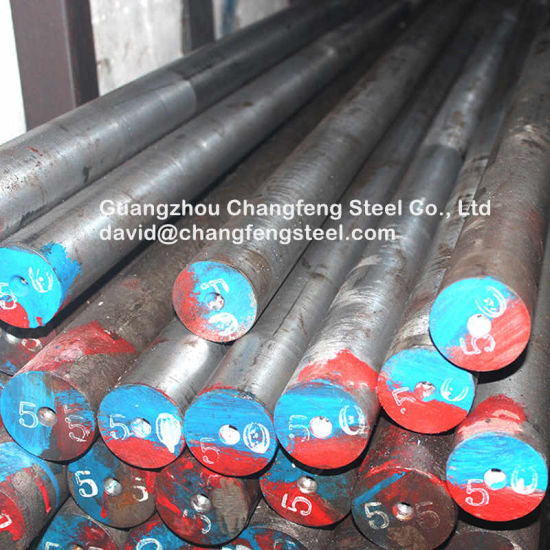 1.2738 P20 Ni Hot Rolled Plastic Round Bar Alloy Steel Products pictures & photos