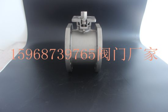 High Qaulity Wafer Type Ball Valve with ISO-5211 Mounting Pad pictures & photos