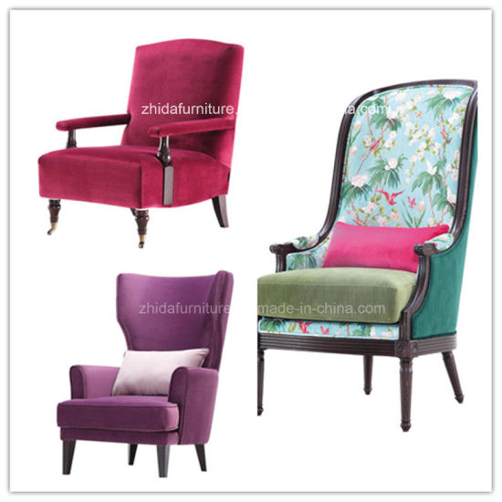 Modern Fabric Chair Living Room Leisure Arm Chair pictures & photos