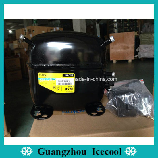 Danfoss R134A 1/3HP Mini Refrigerator Compressor Sc15g Secop Compressor