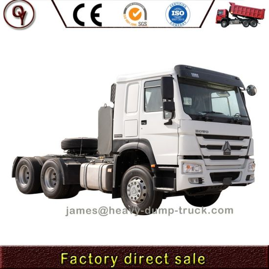 Hot Price China Sinotruk HOWO 6X4 41-50t LHD Rhd Tractor Truck for New and Used
