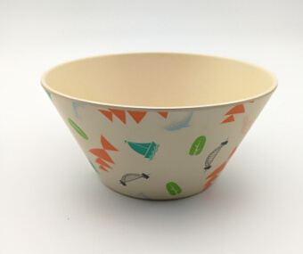 Biodegradable Portable Bamboo Fiber Food Salad Bowls (YK-B2048) pictures & photos